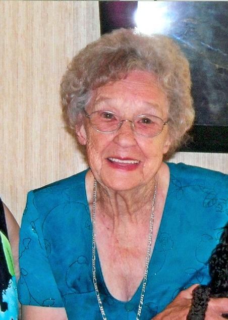 Myrtle Lee Evans Parrott