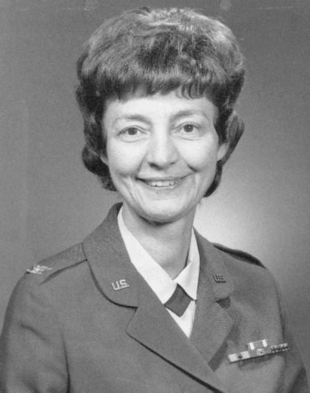 Col. Mary Ellen Ashe, USAF (Ret.)