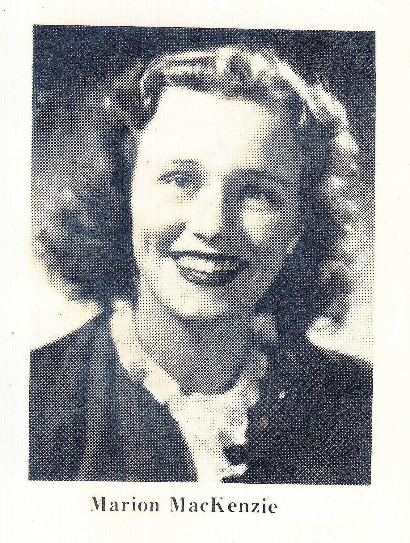 Marion Louise Harding