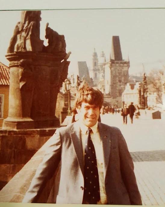 John Cheney Platt, III: Dad on Bridge
