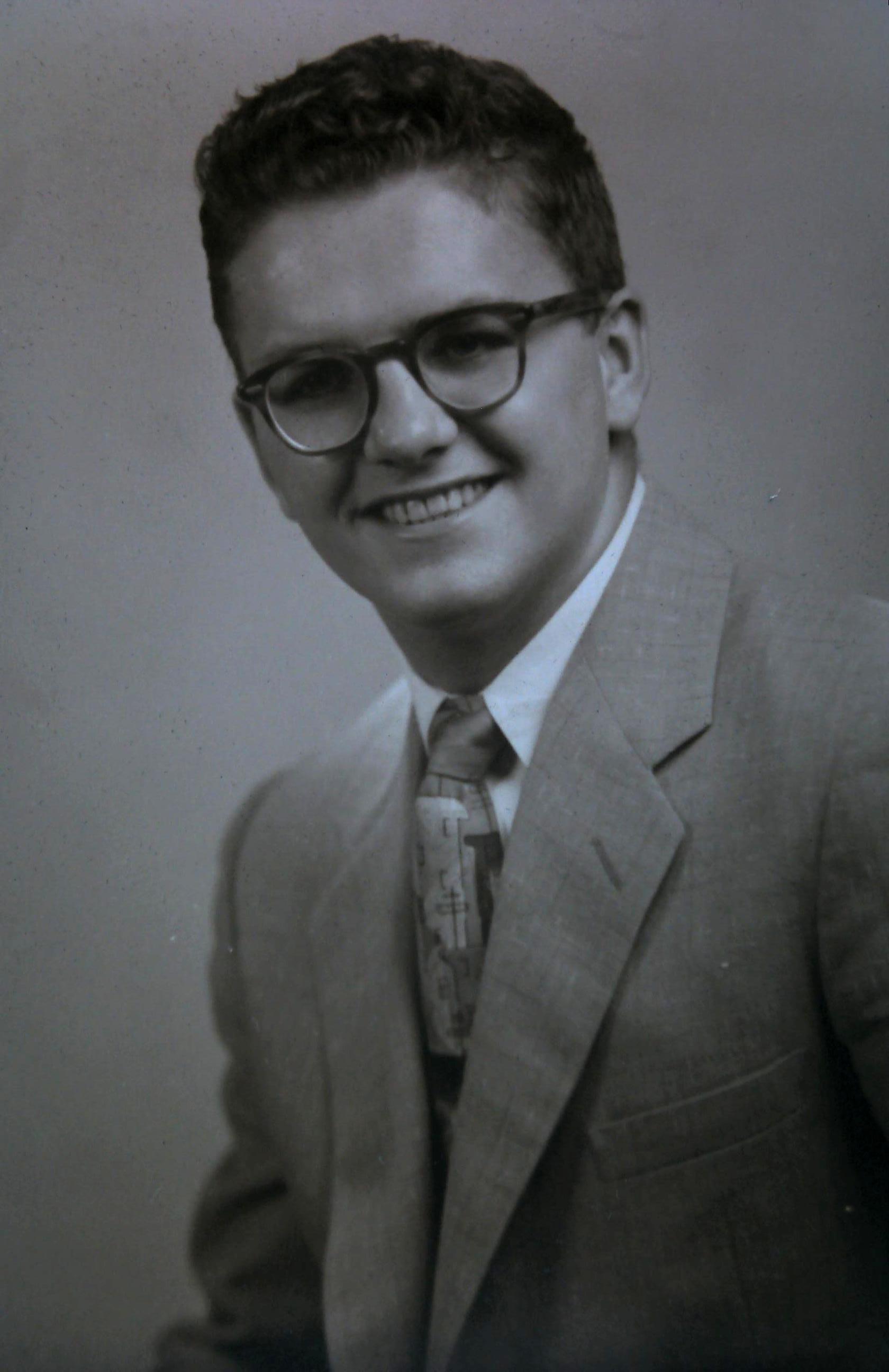 James Robert Dreier: James R. Dreier 1955 HS Senior