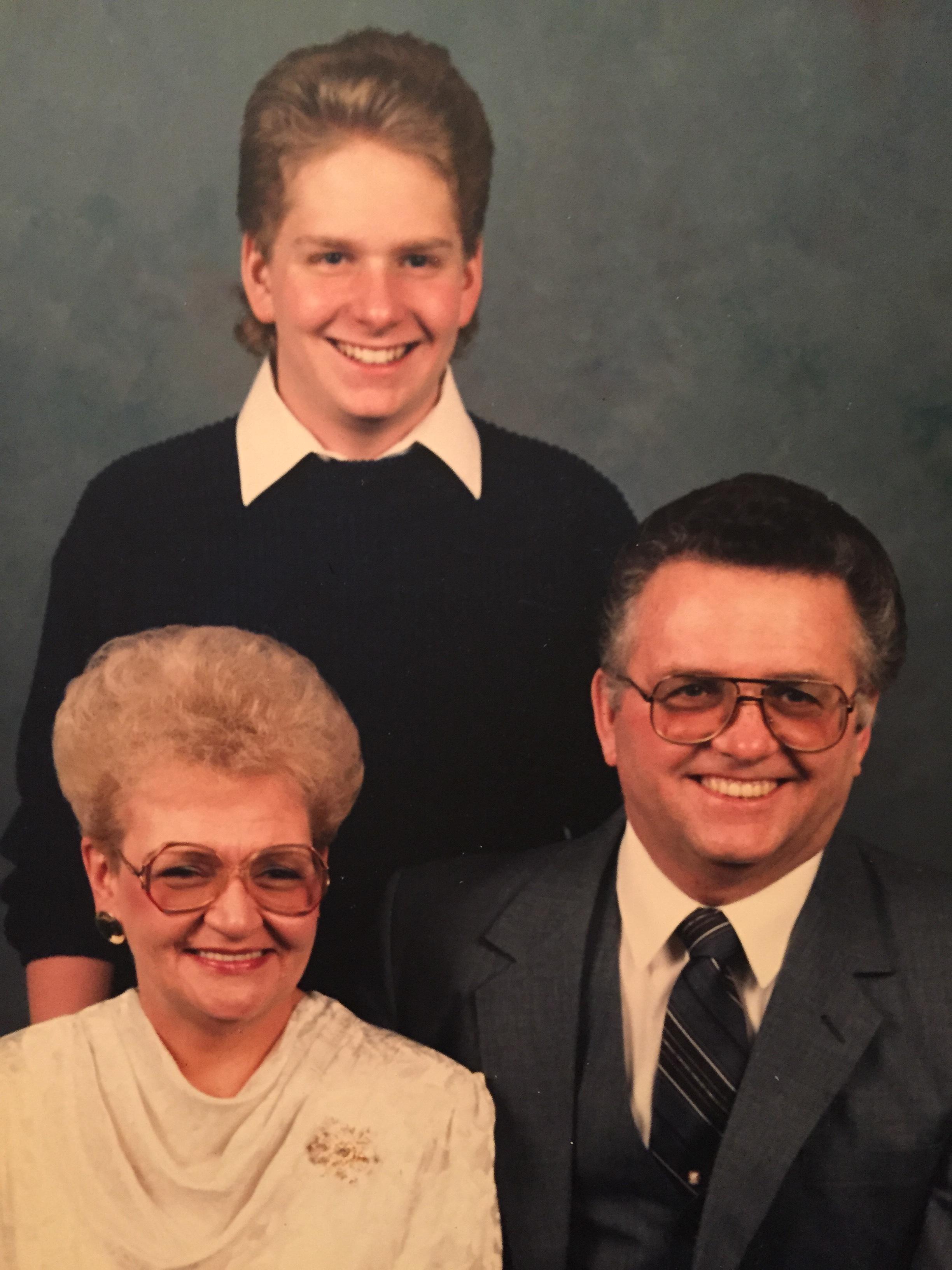 James Robert Dreier: Mr. & Mrs. Dreier and son James