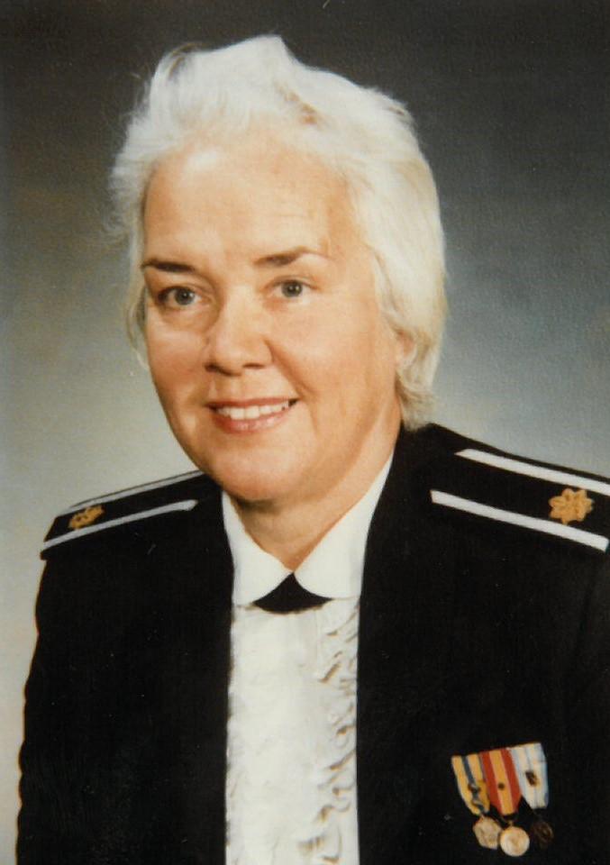Bonnie Ann O'Leary, Major USAF Retired