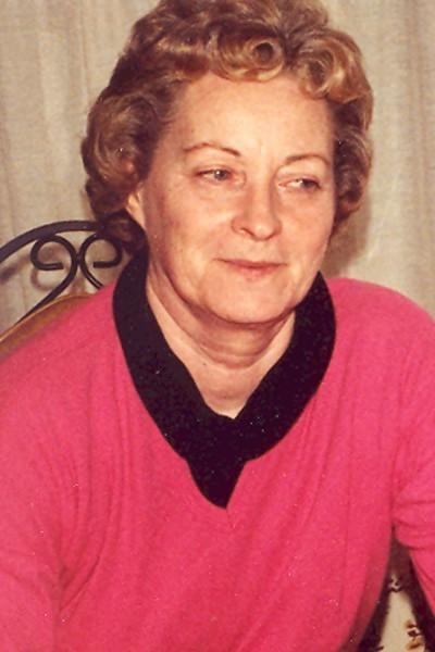 Doris Adella Foucek
