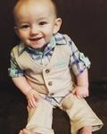 Baby Elijah James Leslie