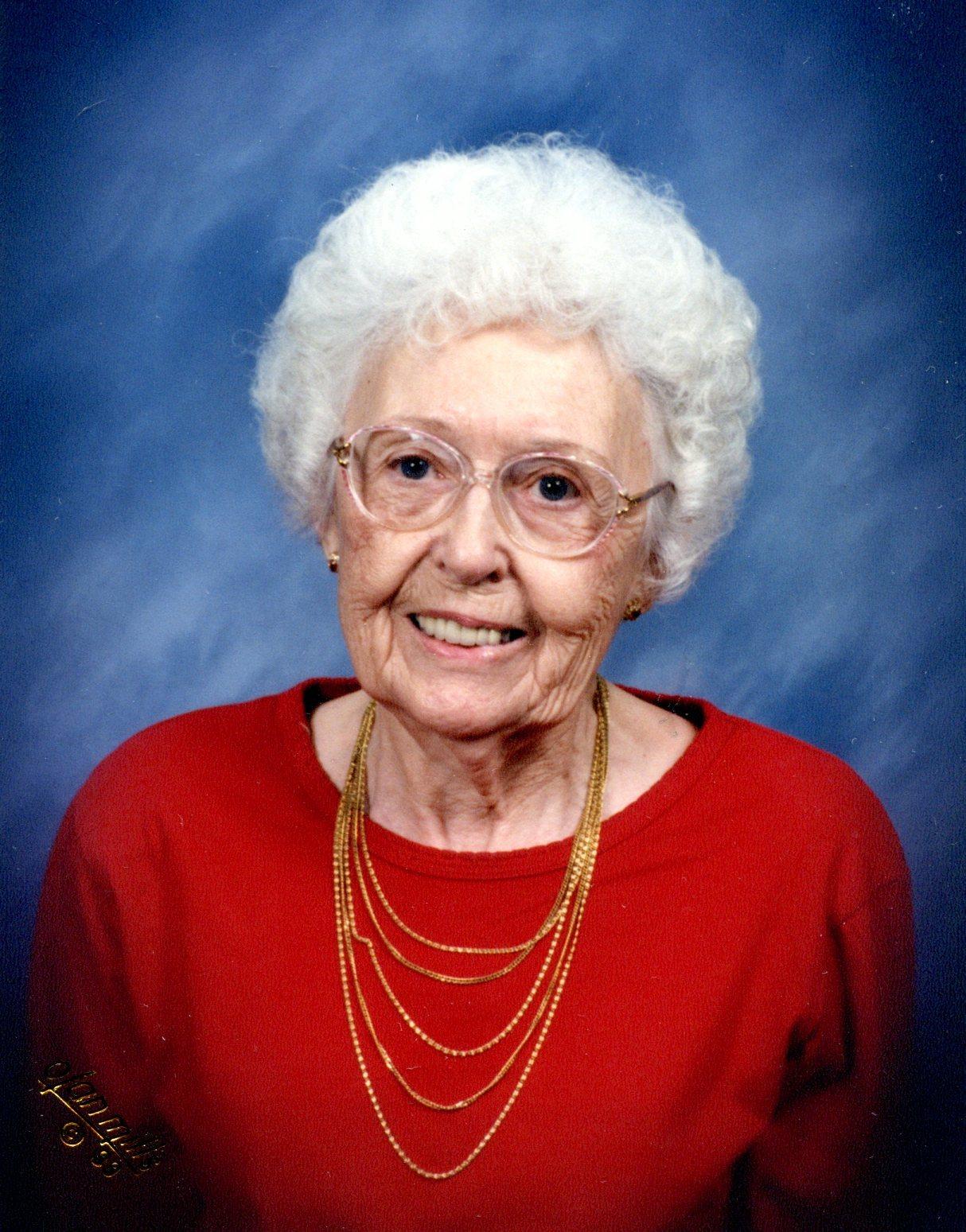 Velma Juanita (Knott) Flock
