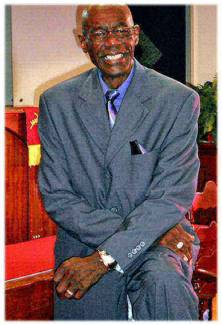 Pastor Robert M.  Jones, Sr.