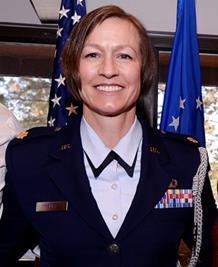 Major Phyllis Joy Pelky, USAF